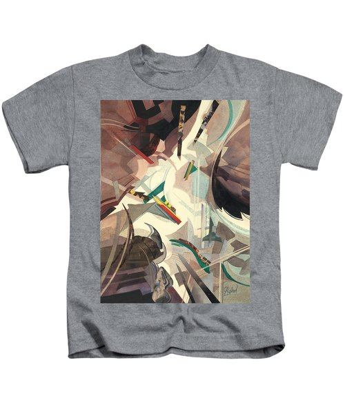 Untitled Abstract Kids T-Shirt