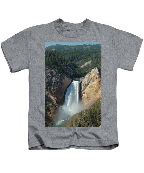 Upper Falls, Yellowstone River Kids T-Shirt