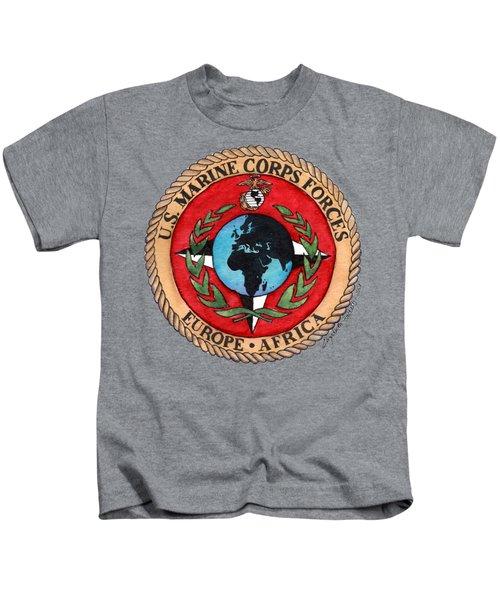 U.s. Marine Corps Forces Europe - Africa Kids T-Shirt