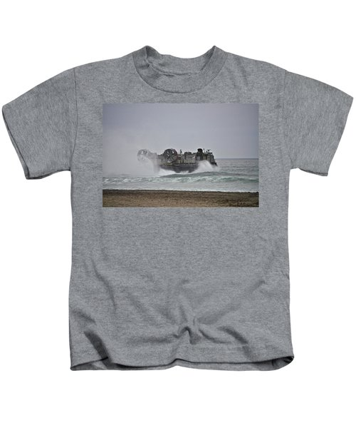 Us Navy Hovercraft Kids T-Shirt