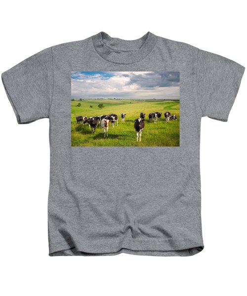 Valley Of The Cows Kids T-Shirt