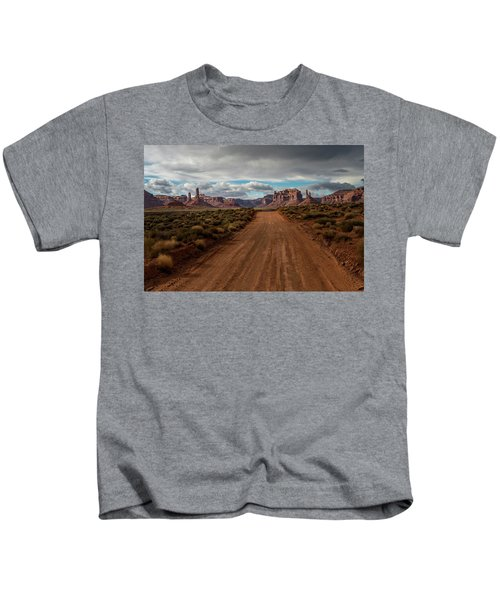 Valley Of The Gods Kids T-Shirt