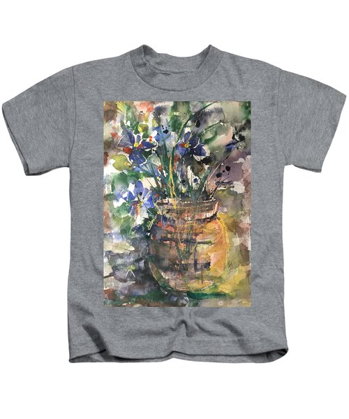 Vase Of Many Colors Kids T-Shirt