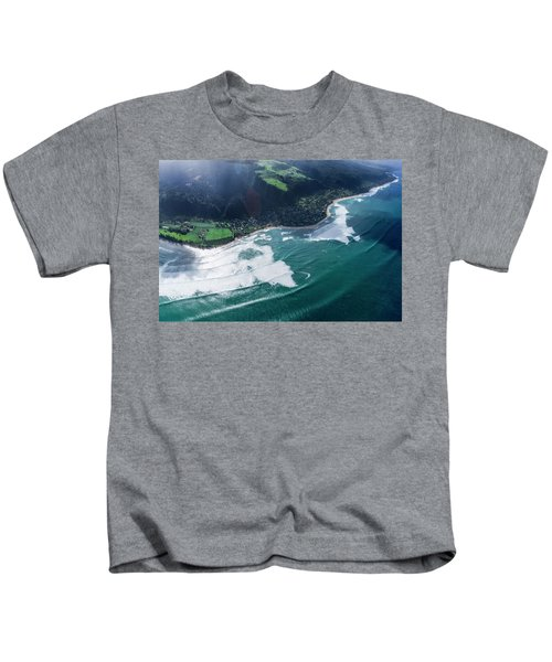 Velzy Land And Sunset Point Kids T-Shirt