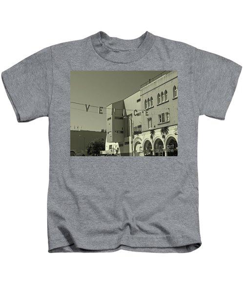 Venice Sign Kids T-Shirt