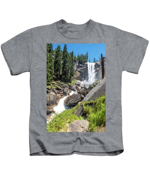 Vernal Falls- Kids T-Shirt