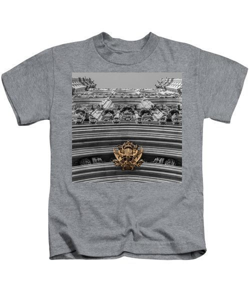 Victoria Tower Low Angle London Kids T-Shirt