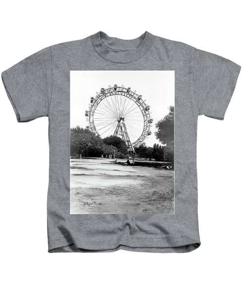 Viennese Giant Wheel Kids T-Shirt