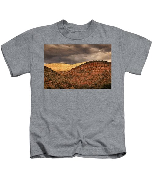 View From A Train Pnt Kids T-Shirt