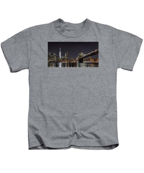 View From Brooklyn Bridge Park Kids T-Shirt
