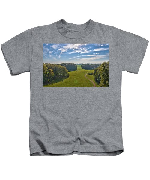 View From Lilac Mountain Kids T-Shirt