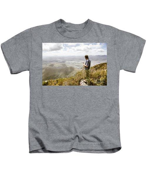 View From Mt Zeehan Tasmania Kids T-Shirt