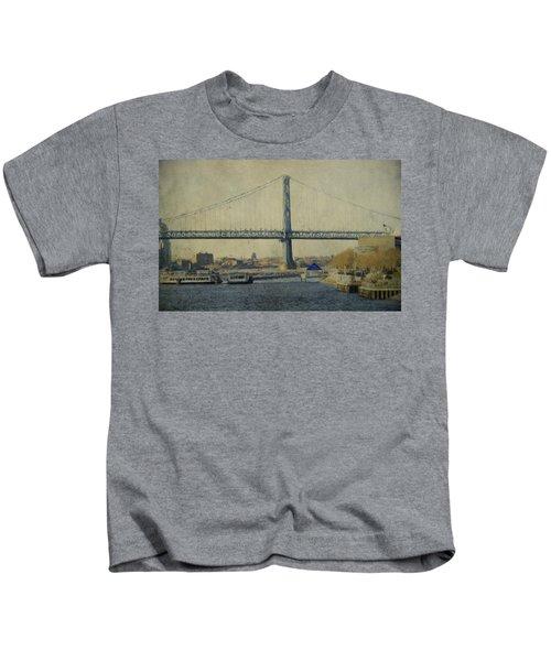 View From The Battleship Kids T-Shirt