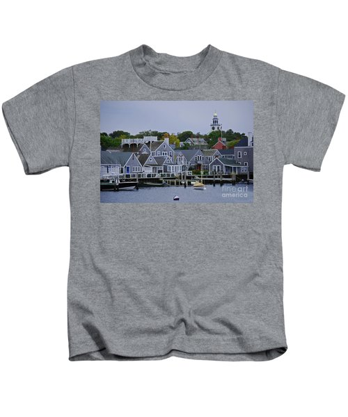 View From The Water Kids T-Shirt