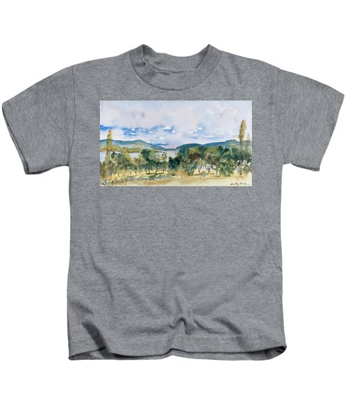 View Of D'entrecasteaux Channel From Birchs Bay, Tasmania Kids T-Shirt