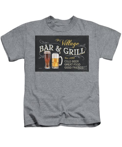 Village Bar And Grill Kids T-Shirt