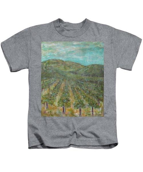Vineyard #2 Kids T-Shirt