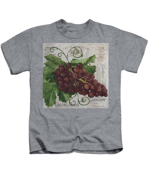 Vins De Champagne Kids T-Shirt