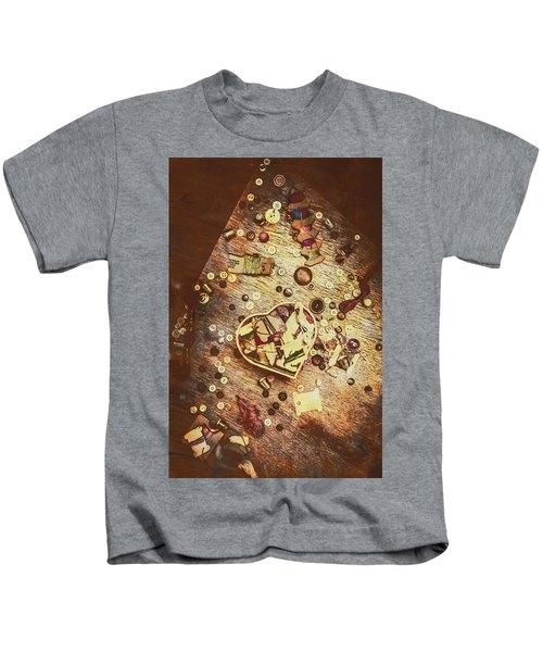 Vintage Dressmakers Table Kids T-Shirt