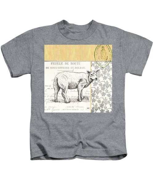 Vintage Farm 3 Kids T-Shirt