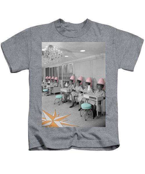 Vintage Hair Salon Kids T-Shirt