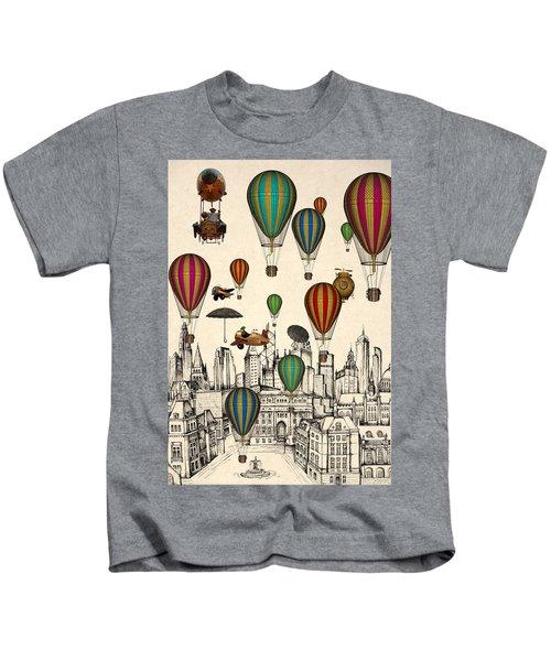 Vintage Old City Kids T-Shirt