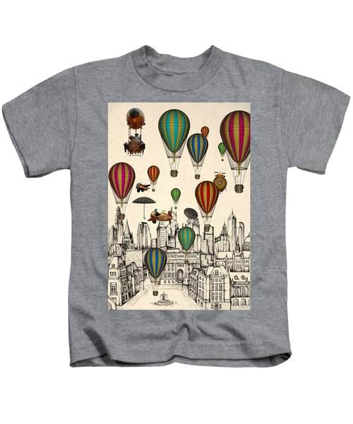 Vintage Old City Kids T-Shirt