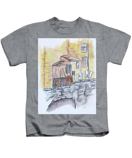 Vintage Wash Day Kids T-Shirt
