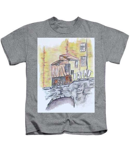 Vintage Wash Day Kids T-Shirt