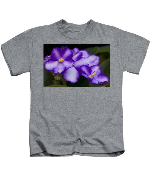 Kids T-Shirt featuring the photograph Violet Dreams by William Jobes