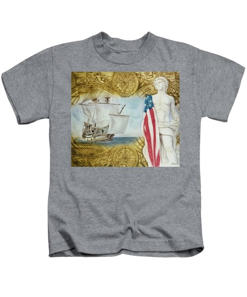 Visions Of Discovery Kids T-Shirt