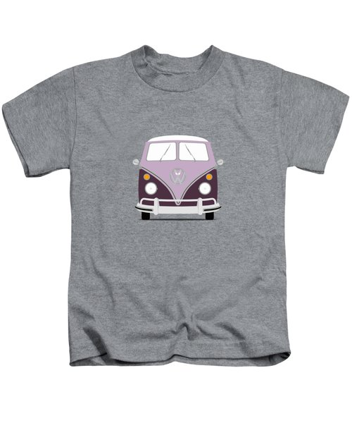 Vw Bus Purple Kids T-Shirt
