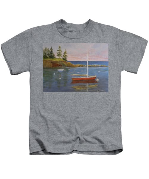 Waiting For The Wind Kids T-Shirt