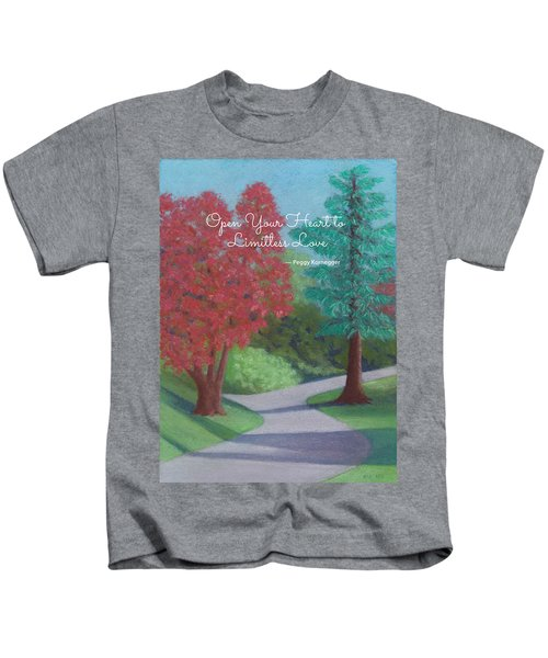 Waking Up - With Quote Kids T-Shirt