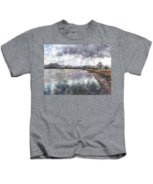 Walden Ponds On An April Evening Kids T-Shirt