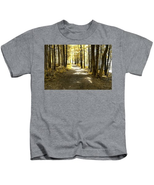 Walk In The Woods Kids T-Shirt