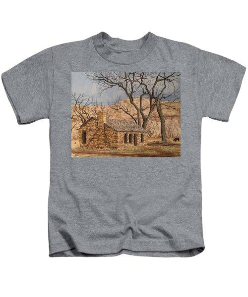 Walker Homestead In Escalante Canyon Kids T-Shirt