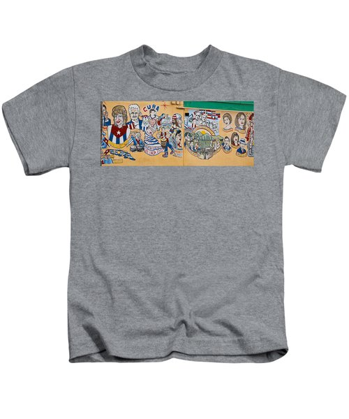Wall Of Cuba Kids T-Shirt