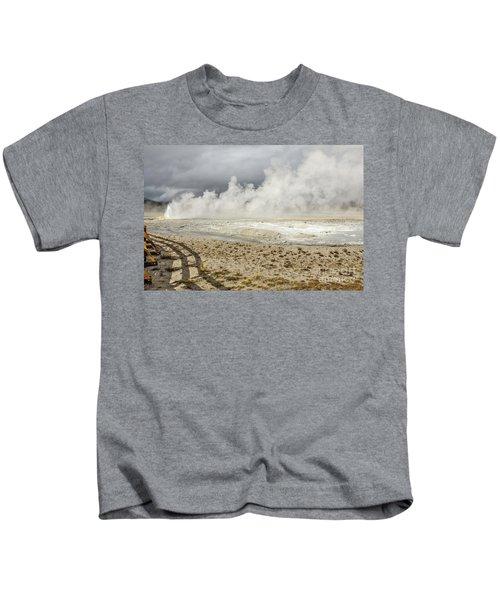 Wall Of Steam Kids T-Shirt