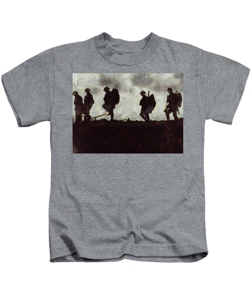 War Walk Kids T-Shirt
