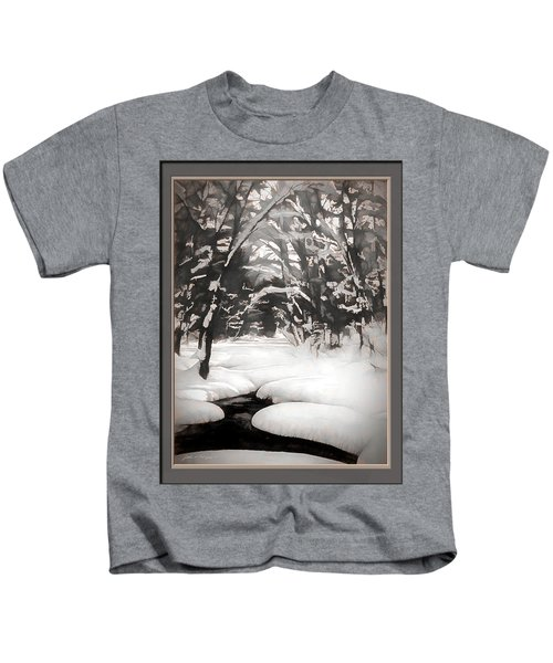 Warmth Of A Winter Day Kids T-Shirt