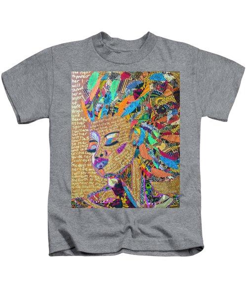 Warrior Woman Kids T-Shirt