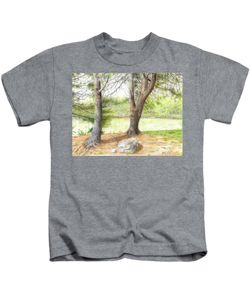 Warriors Path St Park Kids T-Shirt