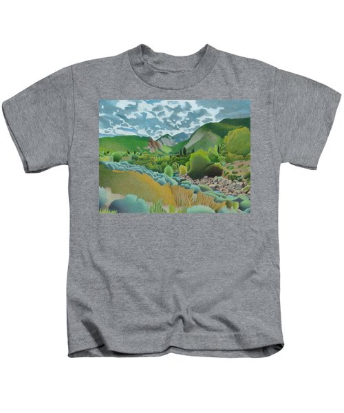 Wasatch Mountains Kids T-Shirt