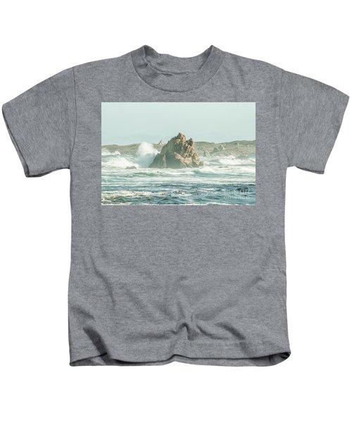Wash Of Blue Kids T-Shirt