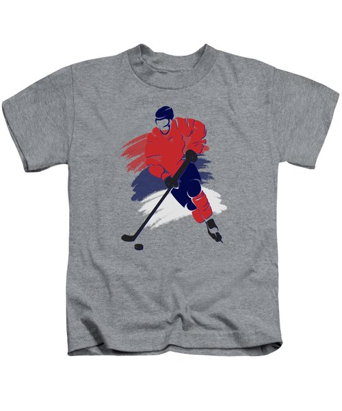 Washington Capitals Player Shirt Kids T-Shirt