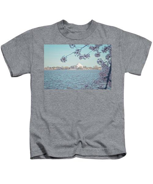 Washington Dc In Spring Kids T-Shirt