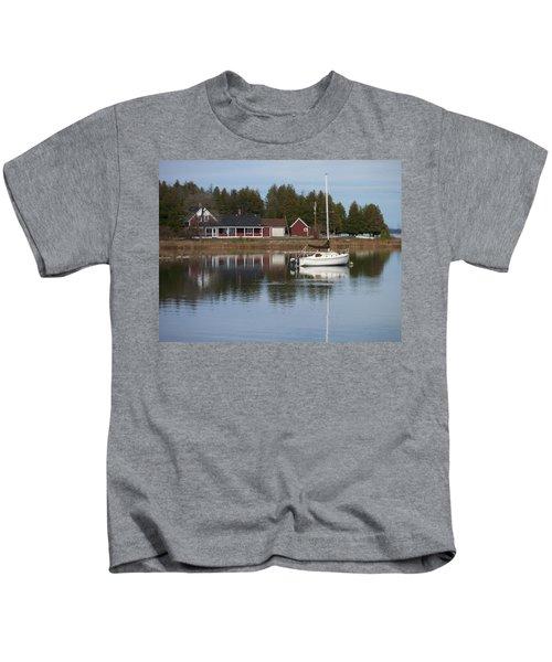 Washington Island Harbor 4 Kids T-Shirt