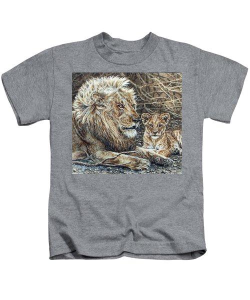 Watching And Waiting Kids T-Shirt
