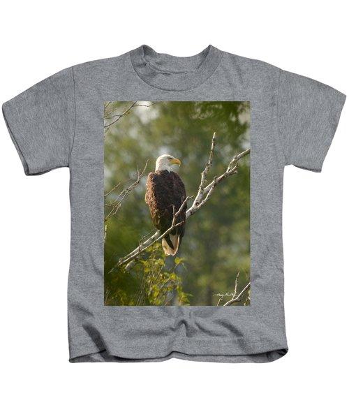 Watching Eagle Kids T-Shirt